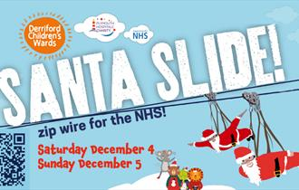 Santa Slide - Zip Wire for the NHS