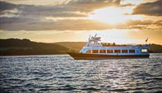 Sundowner cruise on the sound