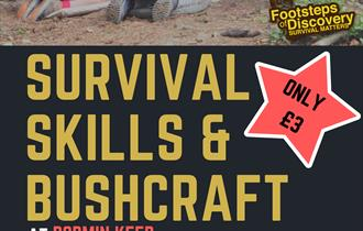 Learn the art of Survival with Footsteps of Discovery!