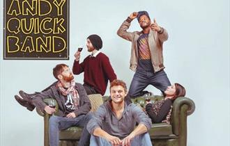 Cosmic Sessions presents The Andy Quick Band