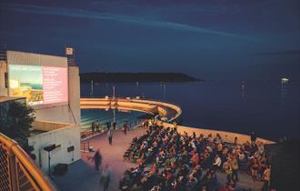 Open Air Cinema at Tinside Lido