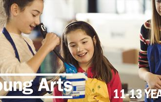 Young Arts Saturday: Autumn Term | 11 - 13 Years