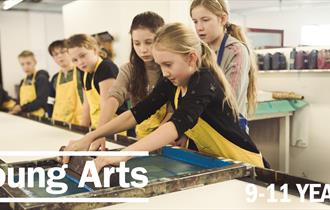 Young Arts Saturday: Autumn Term | 9 - 11 Years