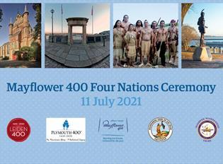 Mayflower 400 Four Nations Ceremony