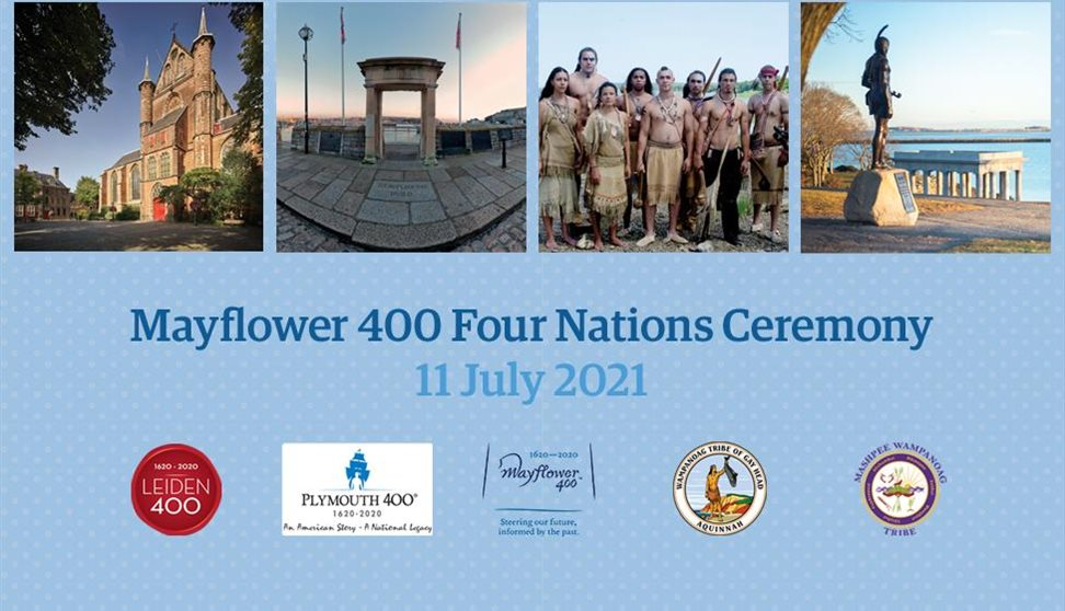 Mayflower 400 Four Nations Ceremony