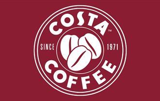 A picture of the Costa Coffee Logo which displays a picture of coffee beans and the words COSTA COFFEE SINCE 1971.
