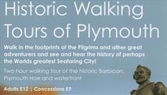 Historic walking tours of Plymouth