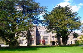 Front Entrance at Boringdon Hall