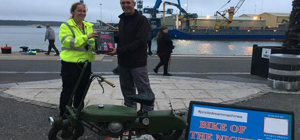 Bike of the Night Poole Quay 11th September