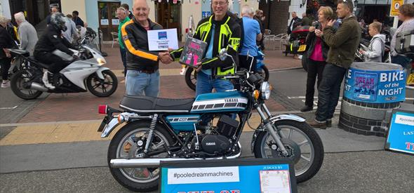 Poole Dream Machines Bike of the Night 28th August