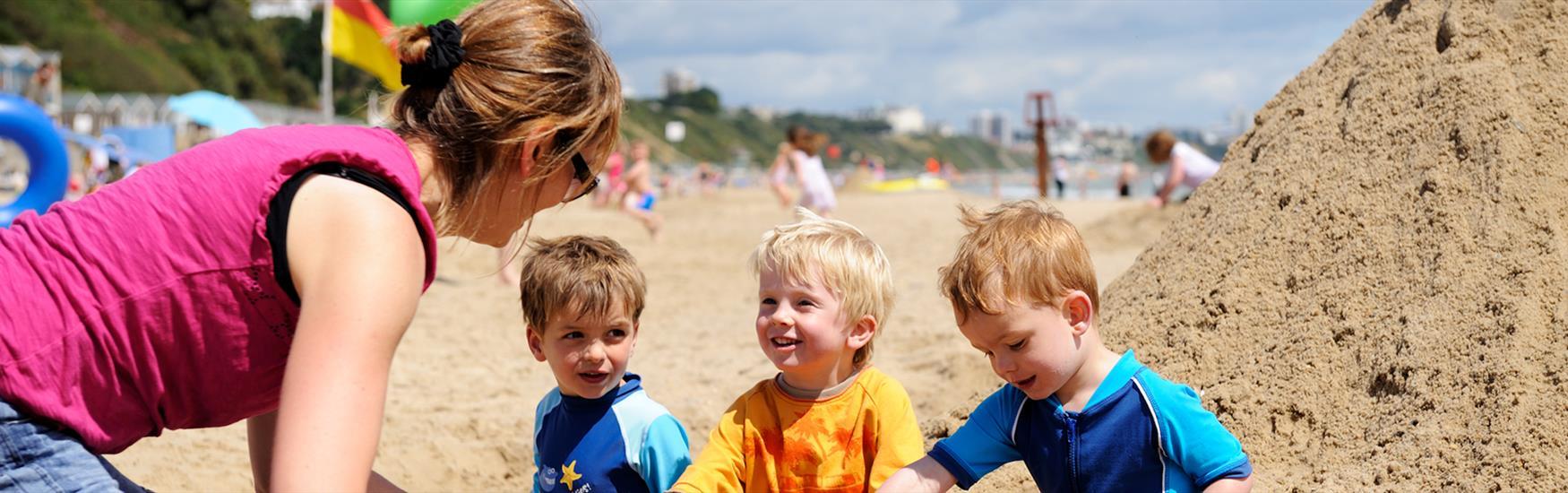 Kids on Beach