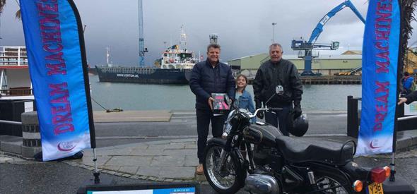Poole Dream Machines bike winner