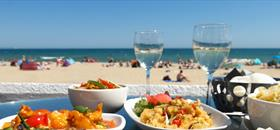 Delicious dining with plenty of options in Poole! |