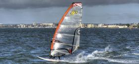 Windsurfing Poole Harbour (C) Dane Gardner |