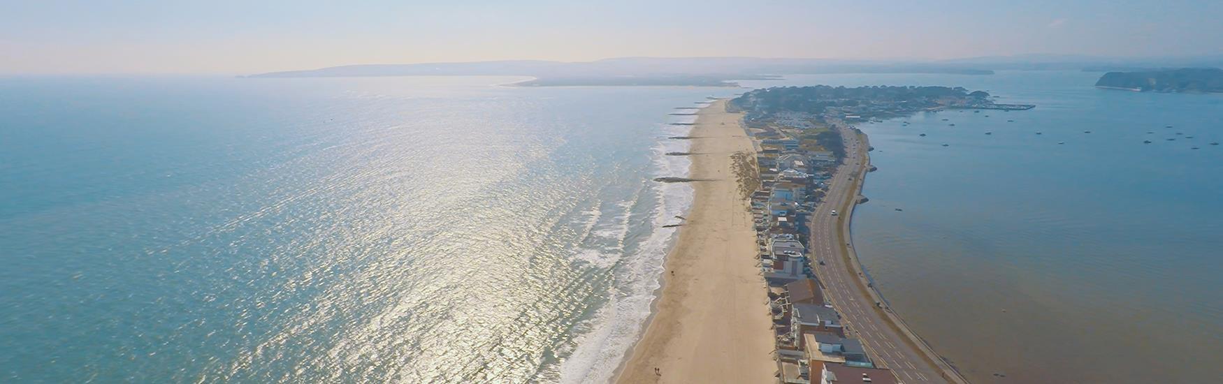 Sandbanks Aerial