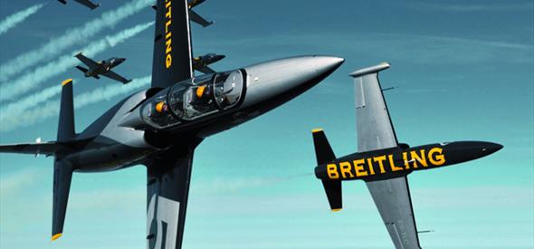 Breitling Jet Team Confirm Only UK Display Date - And It's Bournemouth! |