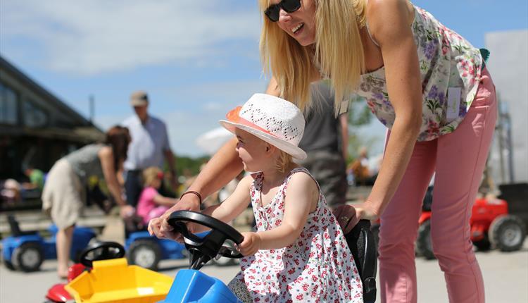 Mother's Day at Farmer Palmer's Farm Park