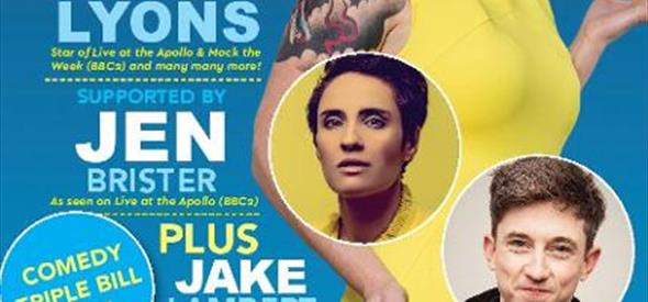comedy, standup, zoe lyons, whatson, lighthouse, entertainment, arts, comedy, funny,