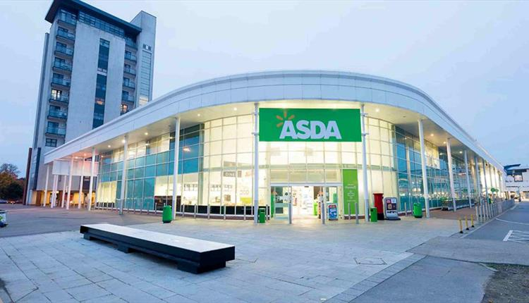 Asda Poole - Supermarket entrance