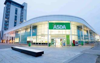 Asda Poole - Supermarket entrance