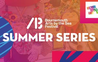 Arts by the sea summer series banner