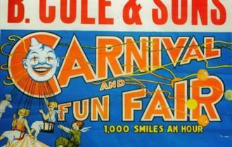 B.Cole Fun Fair poster