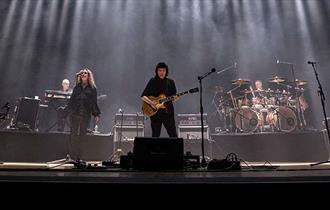 Steve Hackett and band on stage