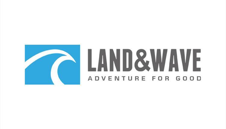 The Land & Wave logo