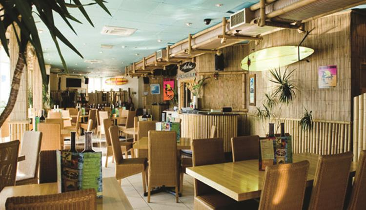 Hot Rocks Lower Restaurant Bournemouth Inside Seating