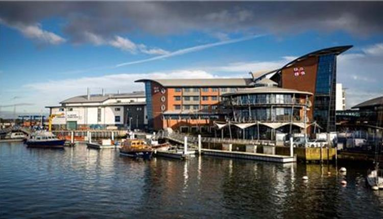 RNLI college view from water