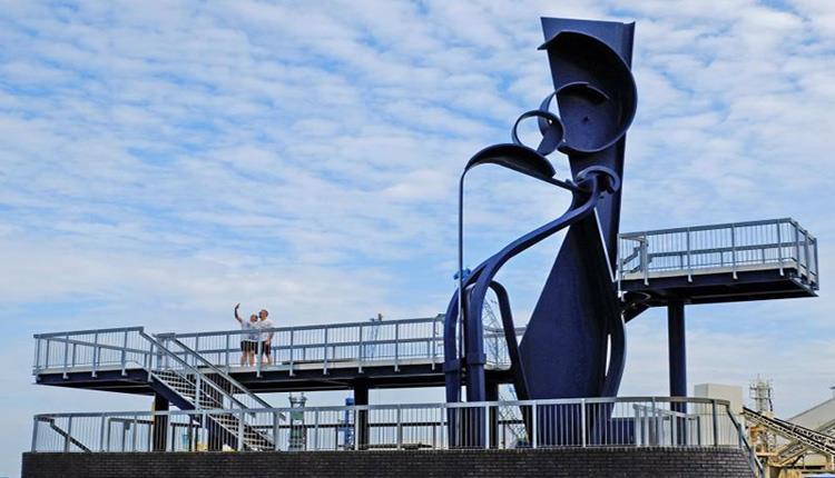 Sea Music Sculpture Poole Quay