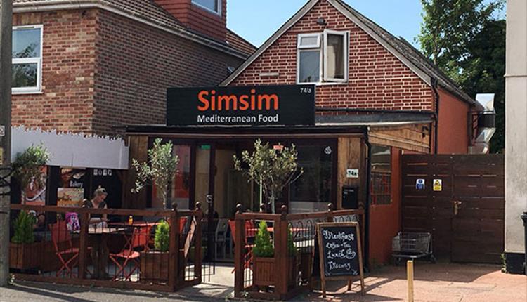 SimSim outside seating