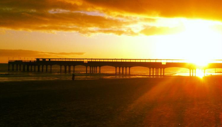 Bournemouth Pier Sunset