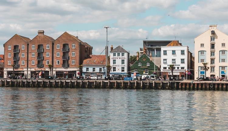 A nice shot of Poole Quay's from the sea.