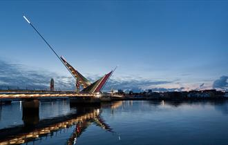 Twin Sails Lifting Bridge