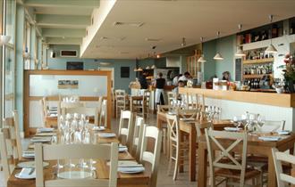WestBeach Restaurant Interior