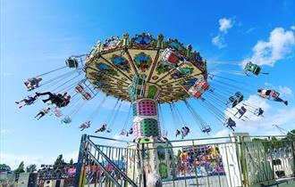 funfair ride that spins around
