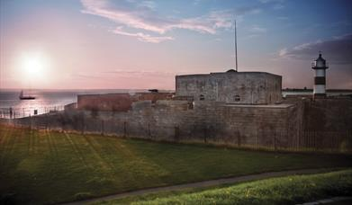Southsea Castle at Sunset