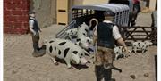 Pig farmers at Southsea Model Village