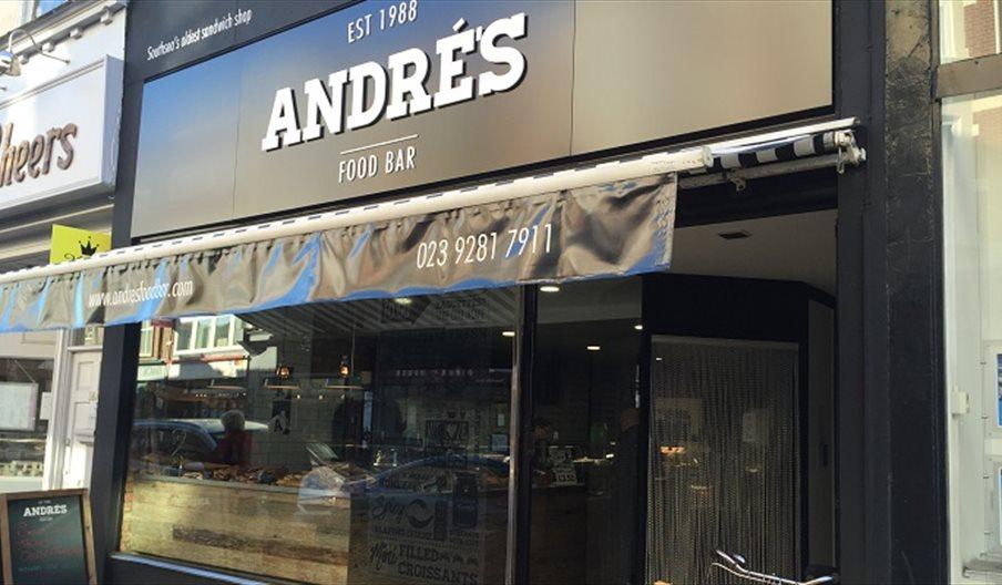 External shot of Andre's