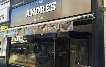 External shot of Andre's