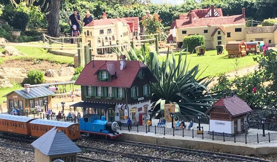 Trains at Southsea Model Village