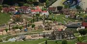 The landscape at Southsea Model Village