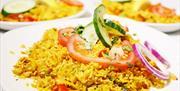 Food served at Akash