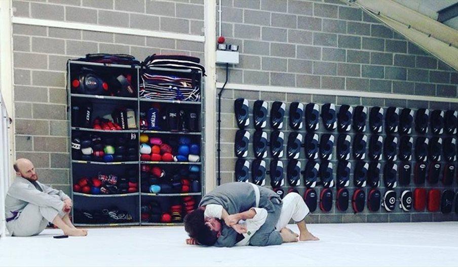 Martial arts at Gym 01