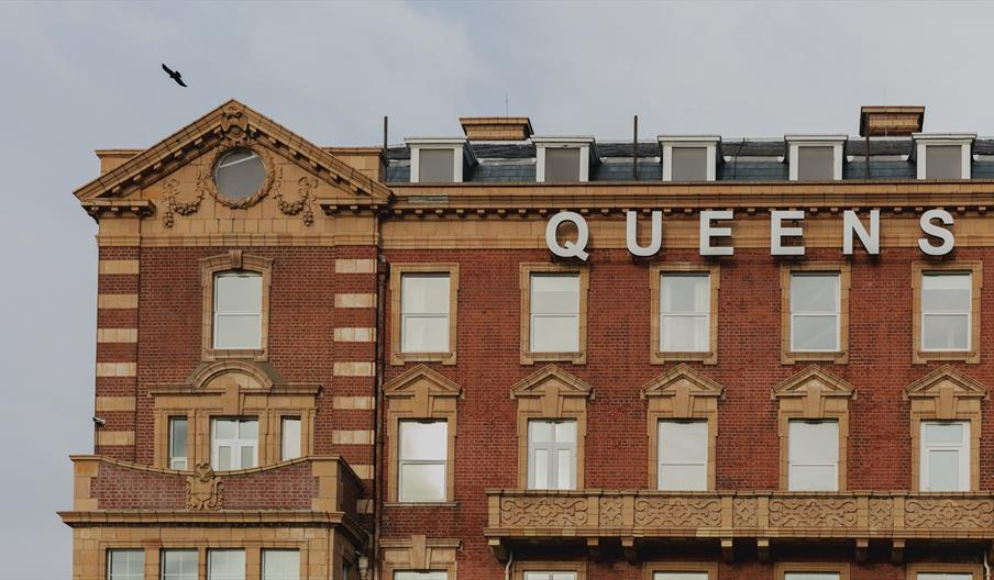 Exterior of the Queens Hotel Southsea