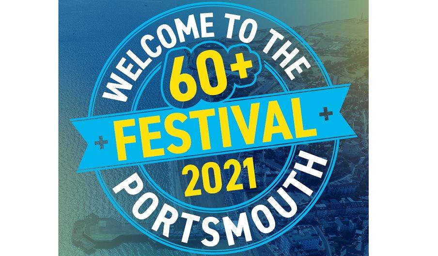 Logo for the 60+ Festival
