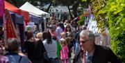 Visitors to Port Solent Waterside Market