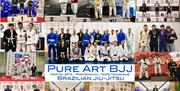 Competition medallists from BJJ Portsmouth