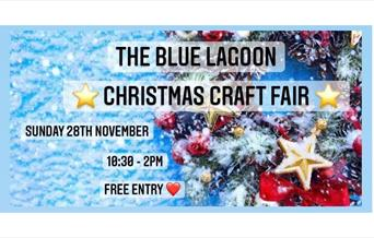 Poster image for the Christmas Craft Fair at Blue Lagoon